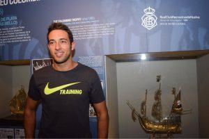Boris Garrós, nuevo jugador del Recreativo de Huelva.