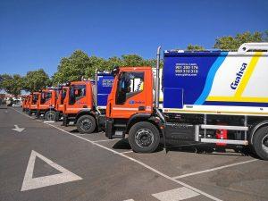 Nuevos camiones de Giahsa