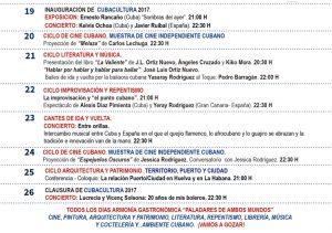 Programacion Cuba Cultura
