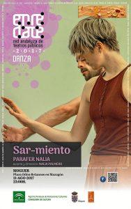 cartel danza