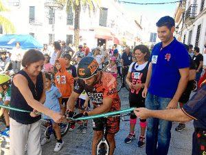 Paseo movilidad en Valverde del Camino (2)