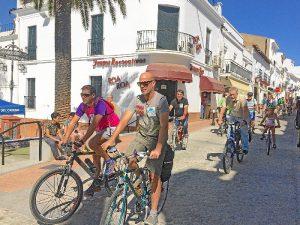 Paseo movilidad en Valverde del Camino (3)