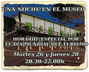 Turismo Museo Ingleses Apertura Nocturna Cartel