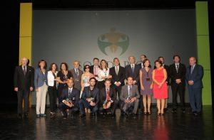 foto de familia premios solidarios ONCE