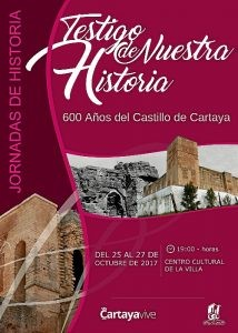 111017 Cartel Jornadas Historia Testigo de Nuestra Historia