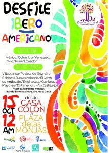 CARTEL. Desfile Ibero _ Americano