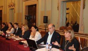 Grupo Popular en el pleno de Huelva de octubre