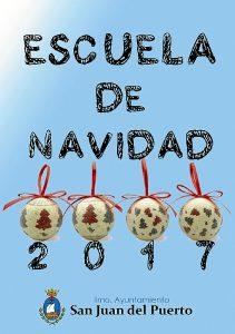 171121 Escuela de Navidad 2017_1 Cartel