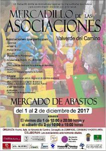 cartel Mercadillo Asociaciones