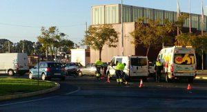 Accidente en avenida Villa de Madrid (3)