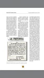 Anuncio en prensa de la creación del Recreativo de Huelva.