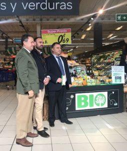 Productos Bio en el Carrefour de Cartaya (2)