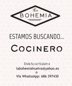 la bohemia cocinero
