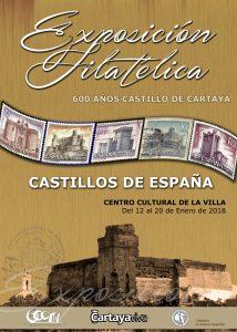 CARTEL EXPOSICION FILATELIA