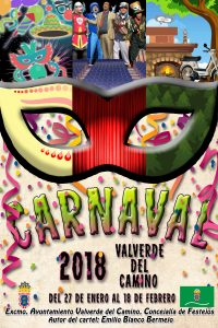 Cartel del Carnaval en Valverde del Camino