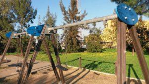 Vandalismo Parque Moret