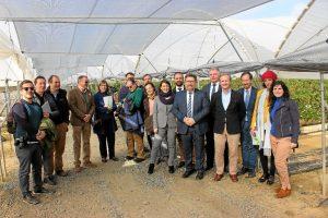 Visita consejero Agricultura y Pesca (1)