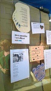 Acción poética en las calles de Gibraleón