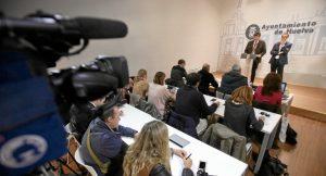 Alcalde y presidente de la Diputación en rueda de prensa (2)