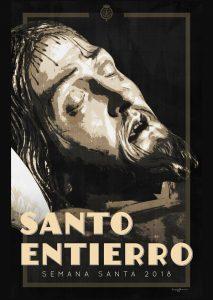 Cartel del Santo Entierro para la Semana Santa 2018
