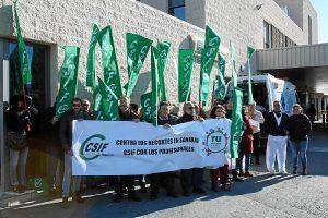 Concentración protesta de CSIF por la situación de las Urgencias en Huelva (2)
