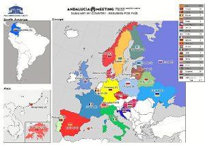 Deportes AOM Mapa Participantes 23 febrero