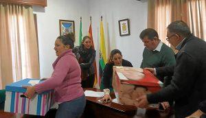 Entrega cheques bebé en Jabugo (2)