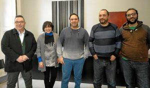 Foto reunión Feria del Libro 1