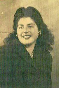 María Cerezo Cabrera, esposa de Román.