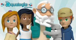 Personajes de Aqualogía.