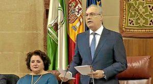 Pleno del Parlamento de Andalucía en el 28-F (1)