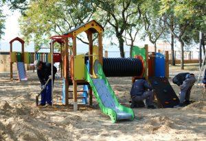 Remodelación del parque Almendral en Cartaya (2)