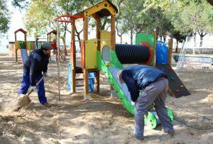 Remodelación del parque Almendral en Cartaya (3)