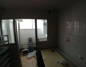 Una foto del antes del espacio destinado a la nueva sala de atención psicológica.