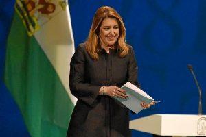 Susana Díaz, en el acto central por el 28 de Febrero 1