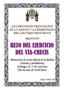 Vía Crucis en La Rábida