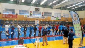 arqueros durante la competición