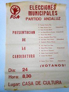 160318 archivo partido Andaluz primeras elecciones 01