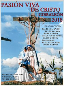 CARTEL PASION VIVA DE CRISTO 2018