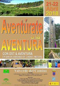 Cartel Aventurate Aventura 2018