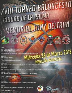 Cartel XVIII Torneo Toni 2018