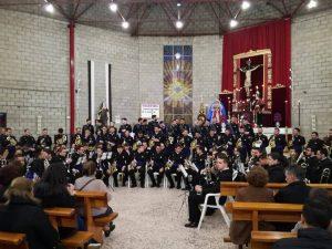 Concierto de la Banda Nazareno en la Hermandad de la Fe 1