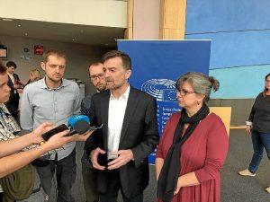 IU gasoducto Parlamento Europeo (1)