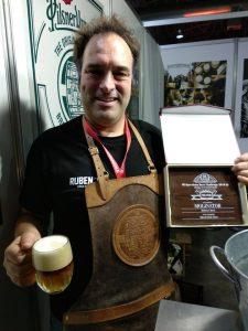Premio a cerveza de Huelva