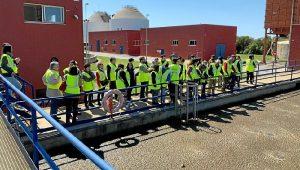 Visita a la EDAR de Aguas de Huelva (2)