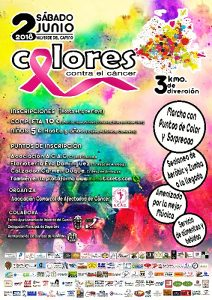 CartelColoresContraElCancer