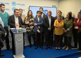 """El PP tilda de """"chiringuito"""" del PSOE la reunión sobre infraestructuras"""
