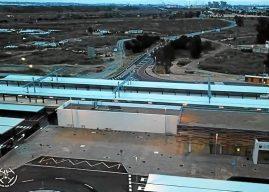 Evolución a vista de drone de las obras de la nueva estación de Renfe