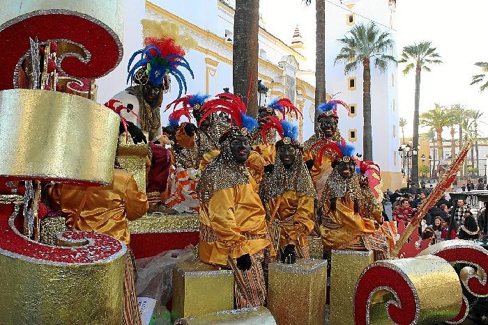 Carrozas De Reyes Magos Fotos.Siete Carrozas En La Cabalgata De Reyes De La Palma