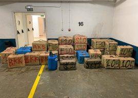 Narcos 'abandonan' 2.000 kilos de hachís en Punta del Moral